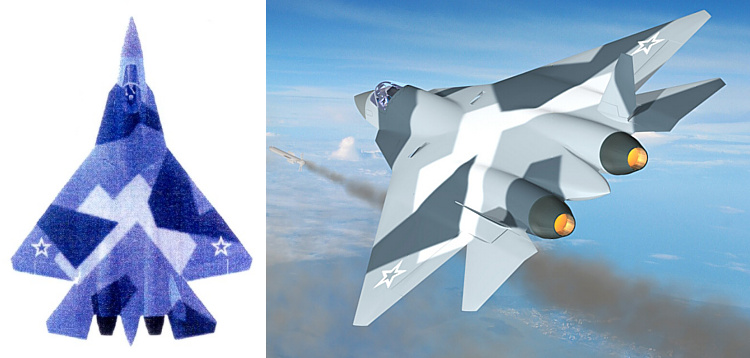 T-50 PAK FA rendering from NPO Saturn web