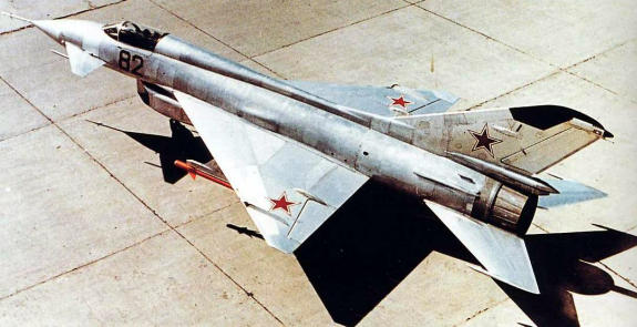 MiG Ye-8 experimental soviet fighter plane aircraft