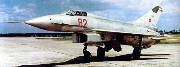 MiG Ye-8 R-21F Metskhvarichvili experimental fighter