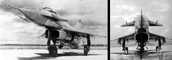 MiG Ye-8 81 82 experimental soviet fighter 1961 1962