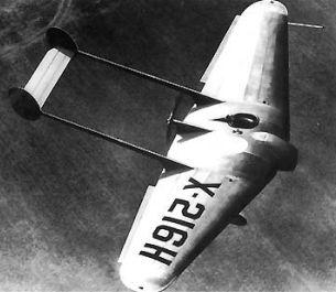 Northrop AFW experimental airplane Model 216