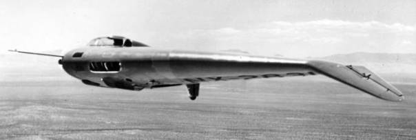 Northrop N-1M flying wing flyingwing experimental aircraft