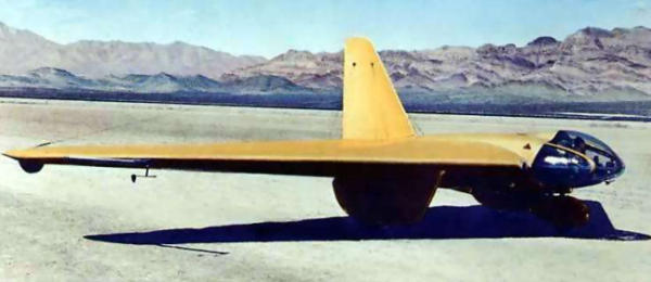 Northrop MX-334 MX-324 3rd prototype flying wing flyingwing airplane aircraft experimental