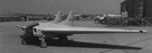 Northrop XP-79B Flying Ram wing experimental USAAF fighter