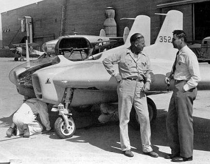 Northrop XP-79 prototype experimental flying wing
