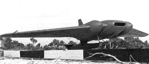 Northrop JB-1 experimental flyingwing buzz bomb