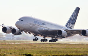 Airbus A380 first flight
