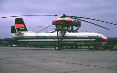 Mil V-12 Homer worlds largest helicopter