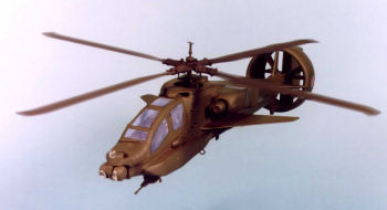 Boeing Sikorsky AH-64 Apache VTDP vectored thrust ducted propeller system experimental proposal prototype improvement modification