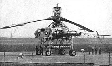 Kellet XR-17 Hughes XH-17 heavy transport helicopter flying crane