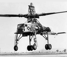 Kellet Hughes XR-17 XH-17 flying crane heavy transport helicopter