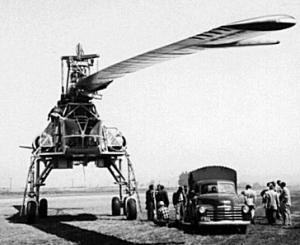 Kellet Hughes XH-17 heavy transport helicopter prototype