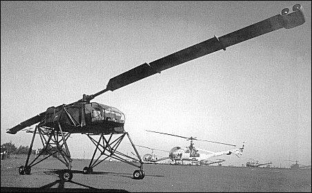 Hiller flying crane heavy transport helicopter