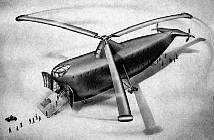 Westland Goliath heavy helicopter project