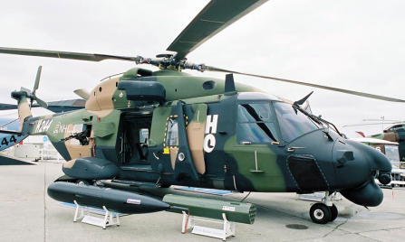 NH Industries NH-90 TTH NFH europe helicopter
