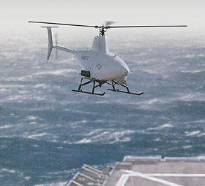 Northrop RQ-8A Fire Scout VTUAV unmanned helicopter