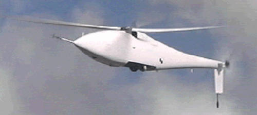 Frontier Systems A160 Hummingbird Warrior unmanned helicopter UAV