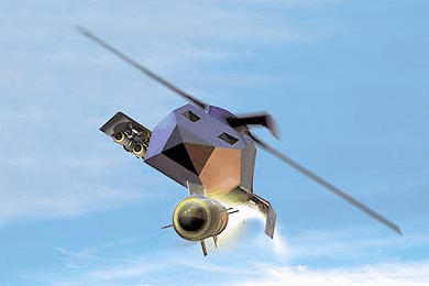 Boeing URAV combat unmanned helicopter concept