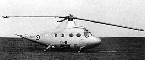 Hunting Percival P.74 experimental british helicopter
