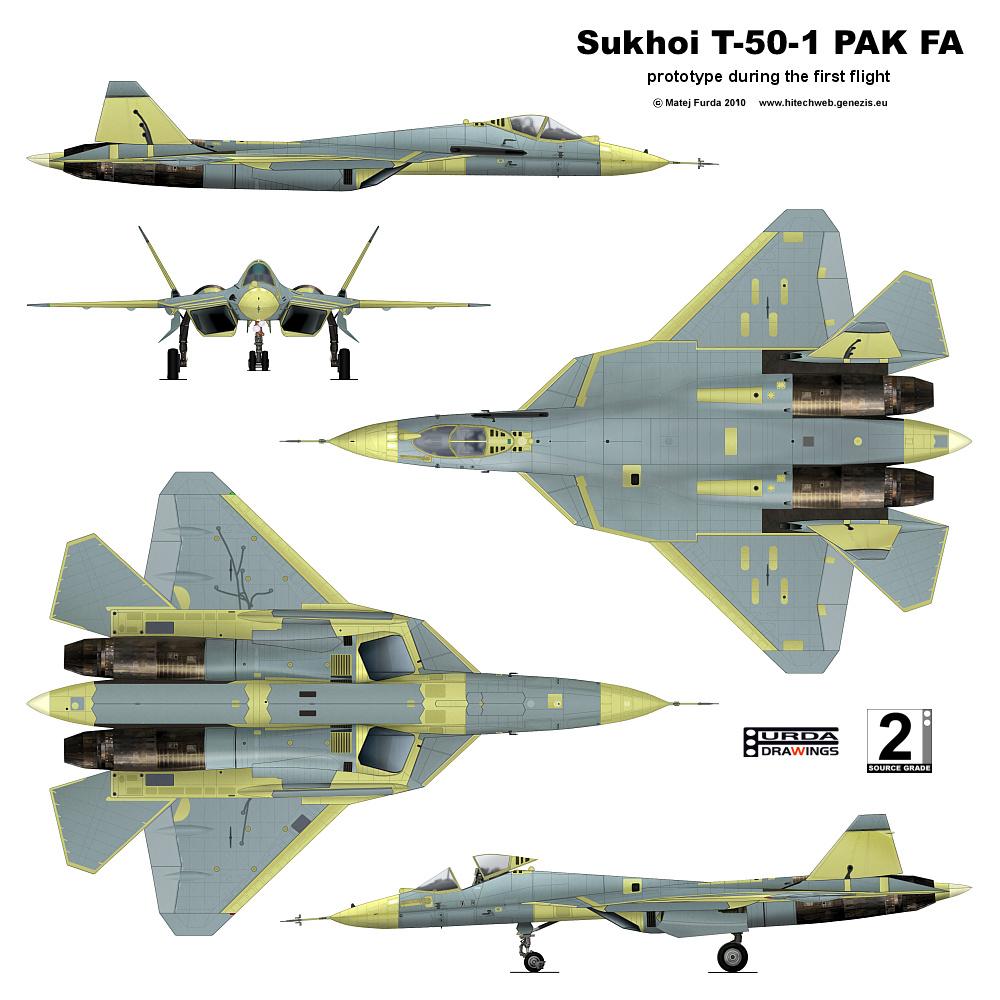 Suchoj T-50 PAK FA (Perspektivnyj Aviacionnyj Kompleks