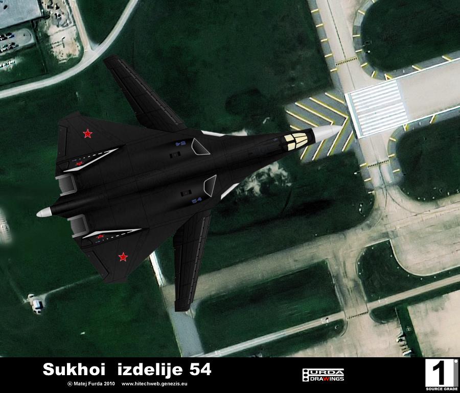 Sukhoi Su-24BM T-60 T-60S Izdelije 54 (advanced Russian