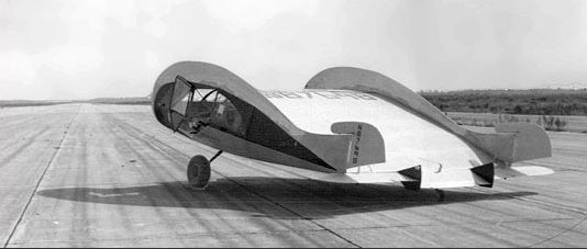 Horton Wingless airplane