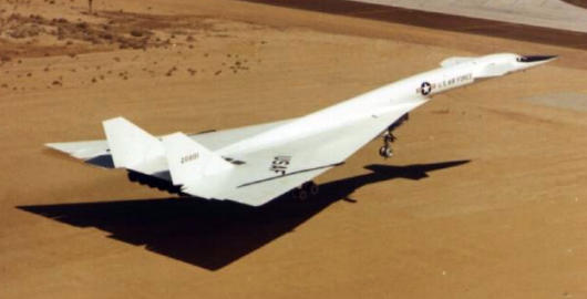 North American XB-70 bomber experimental high speed NASA USAF
