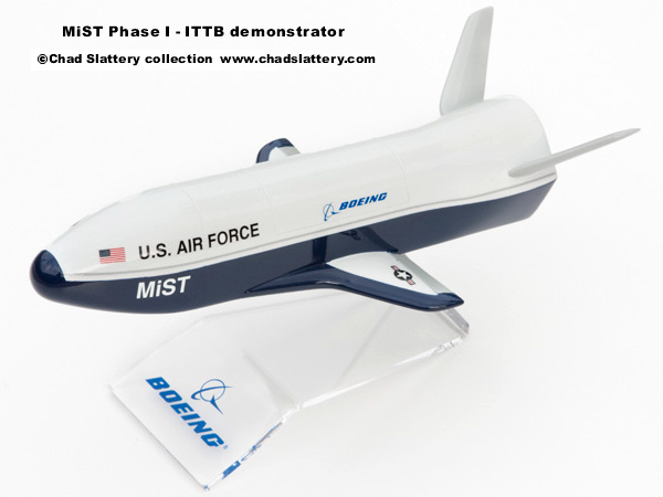 USAF MiST mini spaceplane technology ITTB integrated test bed Boeing X-40A SMV space maneuver vehicle