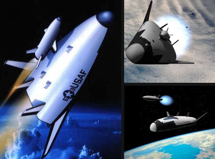military space plane lockheed martin X-33 demonstrator MSP SMV prototype proposal RLV