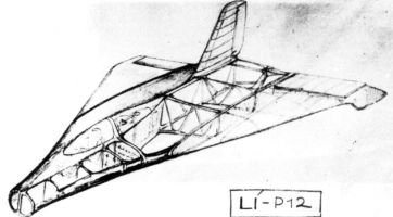 Lippisch P-12 experimental interceptor fighter