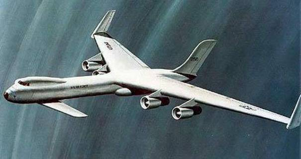 Lockheed A-plane nuclear powered bomber concept proposal bomber