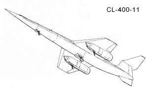 Lockheed Skunk Works CL-400 hydrogen