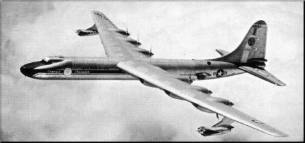 Convair NB-36H XB-36H nuclear reactor plane aircraft demonstrator