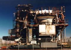 General Electric HTRE-3 nuclear engine propulsion testbed