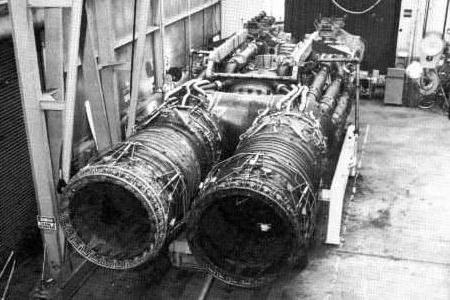 General Electric XMA-1 nuclear engines X-211 propulsion system