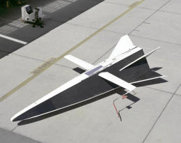 NASA Hyper III experimental glider air launch vehicle plane aircraft