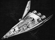 Lockheed Starclipper space plane shuttle vehicle study project proposal reusable 1,5 stage
