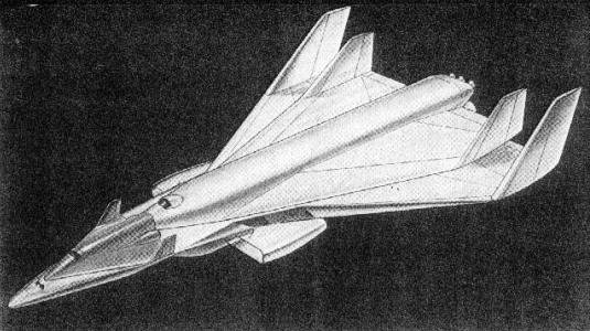 Lockheed System III 3 spaceplane aerospaceplane vehicle study proposal