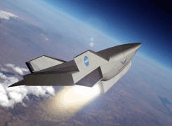 X-43C hypersonic scramjet demonstrator plane vehicle General Electric GDE-1 engine USAF NASA
