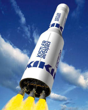 Kistler K-1 reusable rocket TSTO project proposal