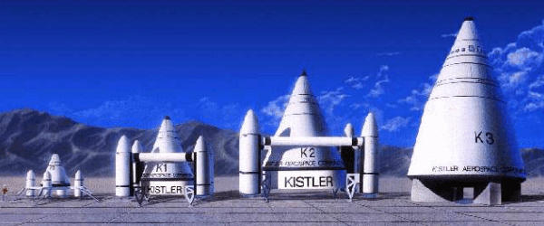 Kistler Aerospace advanced rockets projects