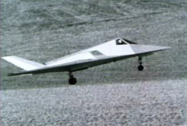 Lockheed Have Blue XST stealth technology prototype demonstrator Harvey flight test low observable experimental DARPA