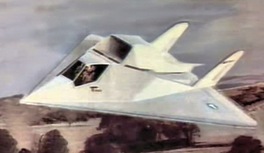 Northrop XST stealth survivable testbed proposal aircraft plane Have Blue low observable DARPA GENSCAT