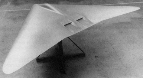 General Dynamics Cold Pigeon stealthy flying wing secret platform airplane