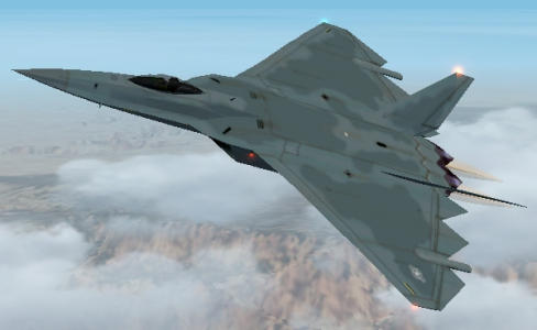 General Dynamics ATF proposal stealth USAF