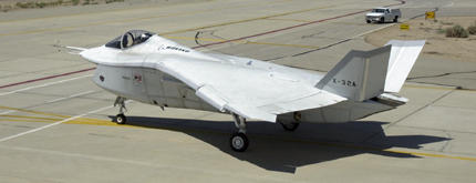 Boeing X-32 JSF prototype stealth