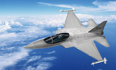 DASA EADS AT-2000 mockup MAKO HEAT advanced european trainer light combat aircraft stealth stealthy