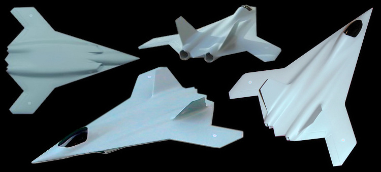 British Aerospace FOAS study fighter stealth low observable aircraft bomber RAF