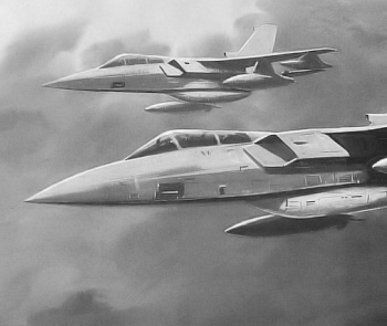Panavia Tornado 2000 stealthy modification proposal project low observable fighter