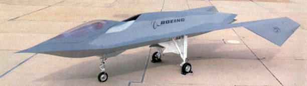 Boeing MDD Bird of Prey Phantom Works stealth experimental demonstrator aircraft